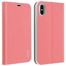 b1c1a674aaf AVIZAR - Custodia A Libro Iphone X E Xs Carbonio Portacarte Funzione  Supporto - Rosa