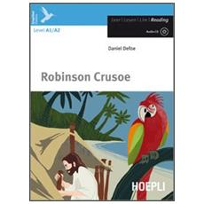 Robinson Crusoe. Con CD Audio