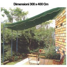 Ricambio top di copertura per veranda