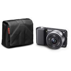Custodia per Fotocamera Compatta in Nailon Nero MB SCP-6BB