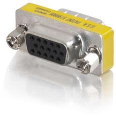 Video Adapter C2G - 1 x HD-15 Maschio VGA - 1 x HD-15 Femmina VGA - Nickel