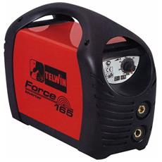 Saldatrice Inverter Telwin mod. Force165 1,6-4,6Kw 5-150Ah con accessori