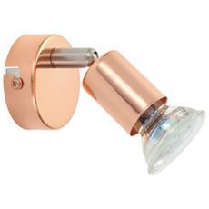 Faretto Buzz Copper, 1x200 Lm, Ø 6 Cm