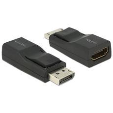 Displayport / HDMI, Displayport, HDMI, Maschio / femmina, Nero, Nichel, 3840 x 2160 Pixels