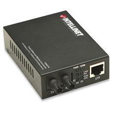 I-ET T-FO-100 - Convertitore RJ45 - Fibra ST 100Base-TX