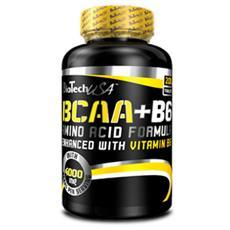 Integratore Alimentare di Aminoacidi Ramificati con Vitamina B6 BCAA + B6 200 CPR