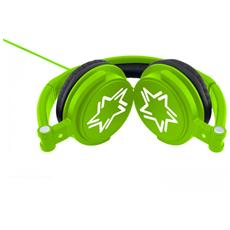 HP010 Verde, Nero, Bianco Circumaurale Padiglione auricolare cuffia