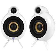 MicroPod Bluetooth Diffusori a 2 vie Potenza Totale 40 Watt colore Bianco