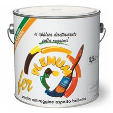 Smalto Antiruggine Lucido Fer Plenum Laiv colore Mogano 0,750 Lt.