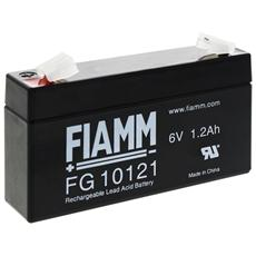 IC-FG10121 - Batteria al Piombo 6V 1,2Ah (Faston 4,8mm)