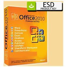 Office 2010 Professional Plus Vl (1 Pc) 32 64 Bit - Esd Version