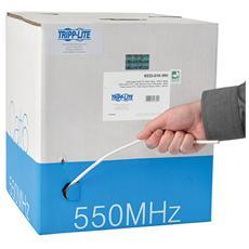 Tripp Lite N222-01K-WH 304.8m Cat6 U / UTP (UTP) Bianco cavo di rete