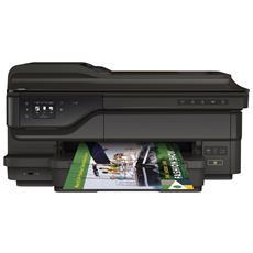 Officejet 7612 Stampante Multifunzione Stampa Copia Scansione Fax InkJet A3 a Colori 33 Ppm (B / N) 29 Ppm (Colore) Wi-Fi USB Ethernet