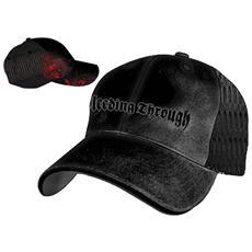 Bleeding Through - Black Meshback (Cappellino)