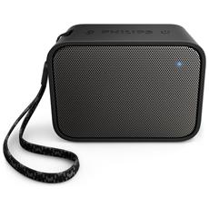 Speaker Audio Portatile BT110 Impermeabile Bluetooth USB colore Nero