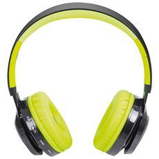 Cuffie Bluetooth Con Microfono Dj 1300 Btr Verde