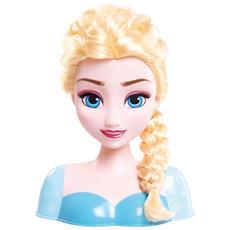 Testa Giocattolo Da Pettinare: Elsa Frozen Taglia Unica