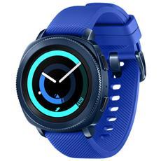 "Smartwatch Gear Sport Impermeabile 5ATM Display 1.2"" 4GB Bluetooth Wi-Fi e NFC Blu - Italia"