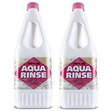 Offerta 2 Bottiglie Profumatore Aqua Rinse Thetford Da 1,5 Litri - Liquido Profumatore Per Tubature E Serbatoi Camper