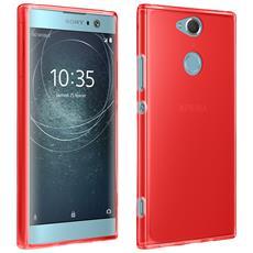 Cover Sony Xperia Xa2 Cover Silicone Gel Morbida E Resistente - Rossa