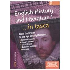 English history and literature. Vol. 1