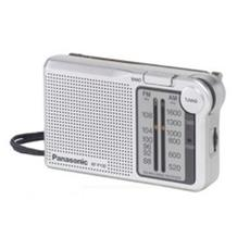 Radio Portatile Analogica AM / FM 0.4 W Color Argento