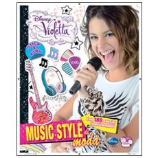 Music style di moda. Stick & play. Violetta. Con adesivi