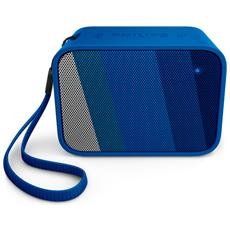 Speaker Audio Portatile BT110 Impermeabile Bluetooth USB colore Blu