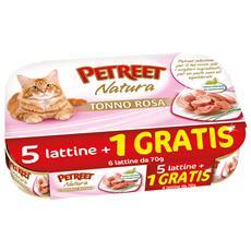 5 Lattine + 1 Omaggio - Tonno Rosa