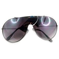 occhiali da sole 'kost' nero - [ l1939]