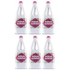 Offerta 6 Bottiglie Profumatore Aqua Rinse Thetford Da 1,5 Litri - Liquido Profumatore Per Tubature E Serbatoi Camper