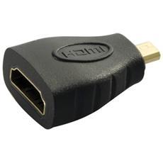 Adattatore Gold HDMI Presa HDMI STD Spina micro HDMI