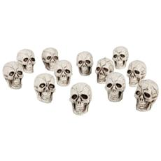 74390 - Set 12 Teschi Decorative Skull, 4 X 3 Cm