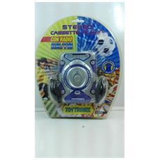 Toytronic - Stereo Con Cassette Portatile Con Radio Am / fm - Cuffie Incluse
