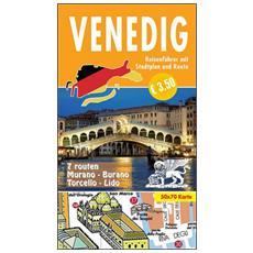 Venedig. Kleiner Reiseführer mit Stadtplan und Rroute