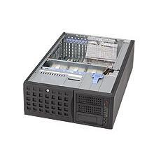 SuperChassis 745TQ-800B (Black) , Full-Tower, Server, Nero, 800W, 17,8 cm, 64,8 cm