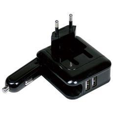 Caricatore USB dual per auto e a muro