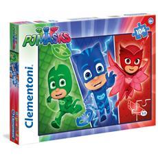 Puzzle 104 Pezzi Super Pigiamini Pj Masks 03 27073