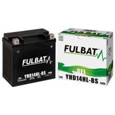 Batteria Al Gel Per Moto Yhd14hl-bs