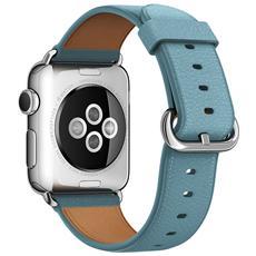 Cinturino Classic da 38 mm per Apple Watch - Azzurro Fiordo