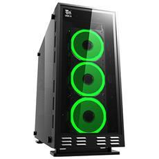 Case Lunar 23R2 Midi Tower ATX / Micro-ATX 1 Porta USB 3.0 Colore Nero