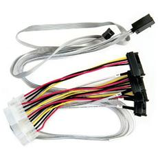 Cavo per trasferimento dati Adaptec - Mini-SAS HD / SAS - for Disco rigido - 80 cm - SFF-8643 Mini-SAS HD - SFF-8643 SAS