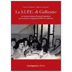 La S. I. P. E. di Gallicano. La Società italiana prodotti esplodenti tra la nascita, la tragedia del 1953 e la chiusura