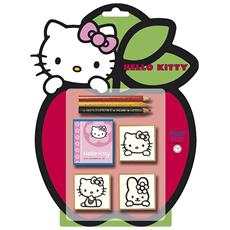 Hello Kitty Set Timbri Blister Mela