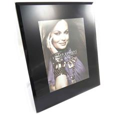 cornici portafoto 'design' nero (13x18 cm) - [ j8396]