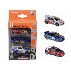 Majorette Racing 3 Auto in sc. vetrina 3modelli (Sogg. casuale) 212084020