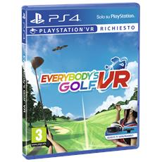 PS4 - Everybody's Golf VR (Richiede PS VR)