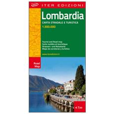 Lombardia. Carte stradale e turistica 1:300.000. Ediz. multilingue