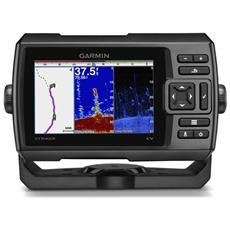 Ecoscandaglio Stiker 5CV a Colori con Trasduttore e GPS Integrato 010-01552-01