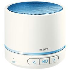 Speaker Audio Portatile WOW Potenza 3 W Bluetooth con Vivavoce - Blu e Bianco
